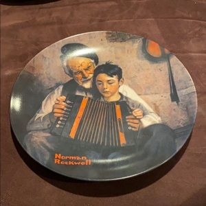"""Other - Norman Rockwell """"The Music Maker"""" Plate"""